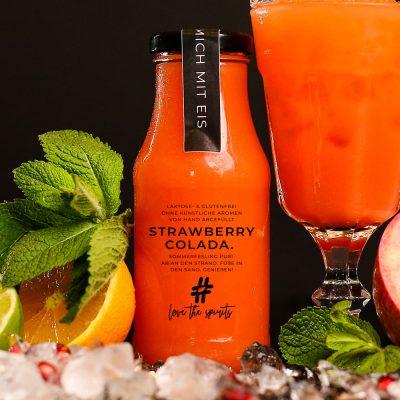 Cocktail Strawberry Colada - Fertige Cocktails online bestellen - Direkt vom Barkeeper abgefüllt