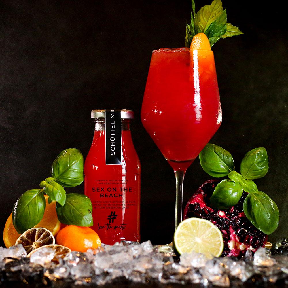 Cocktail Sex on the Beach - Fertige Cocktails online bestellen - Direkt vom Barkeeper abgefüllt